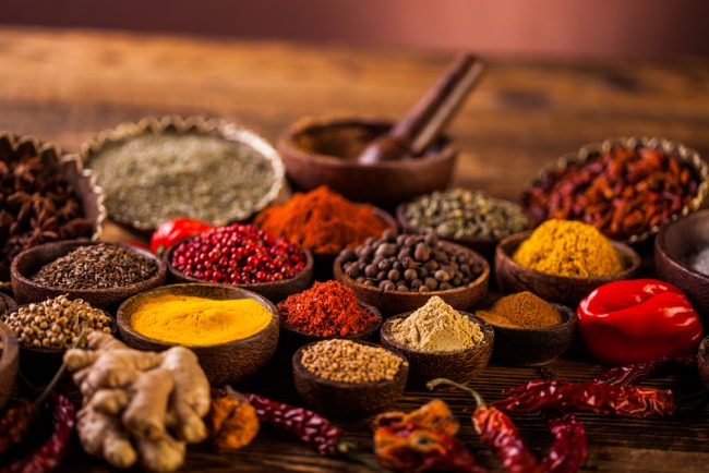 Did you know  there are 7 spices to aid your Healthy Journey