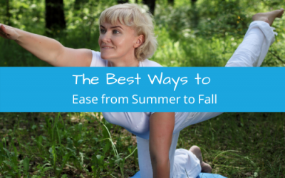 The Best Ways to Ease from Summer to Fall