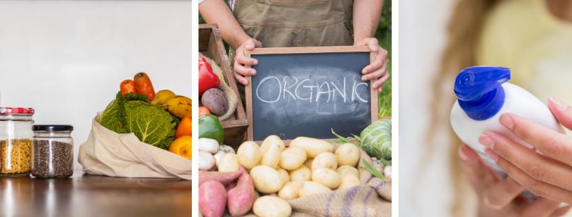 toxins in plastic organic food read label